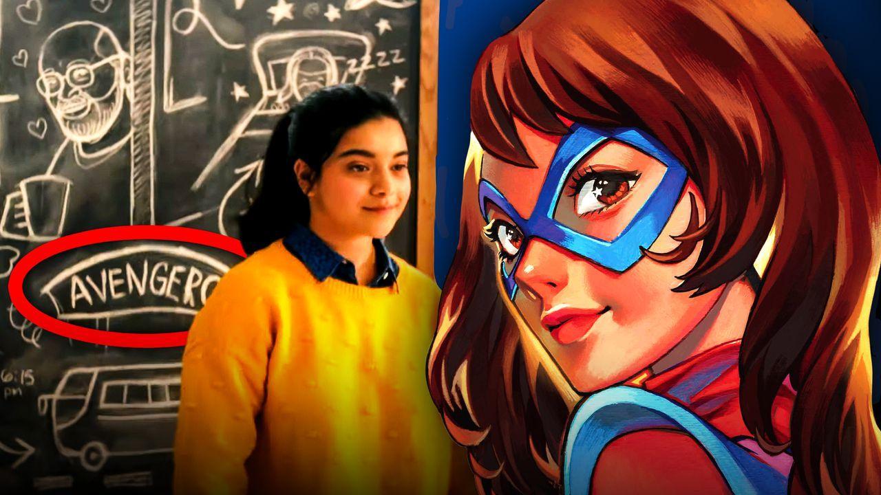 Ms. Marvel Scene, Ms. Marvel Comic