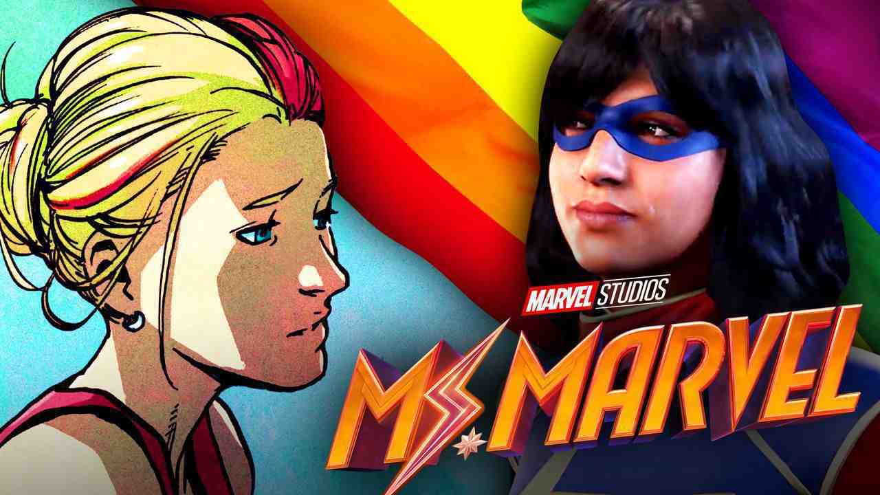 Ms. Marvel LGBTQ+ flag