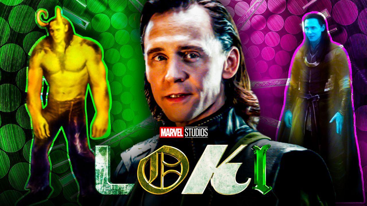 Loki Tom Hiddleston Variants Hulk Frost Giant