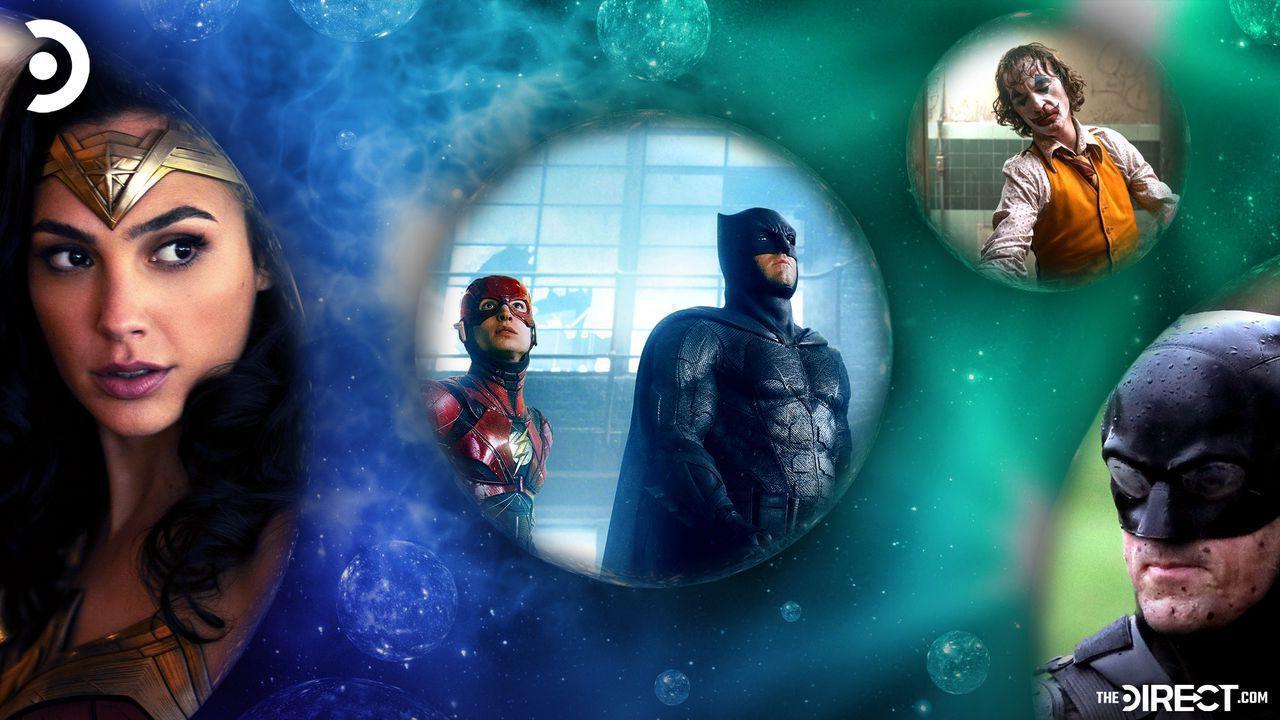 Wonder Woman, Batman, Flash, Joker in Multiverse bubbles