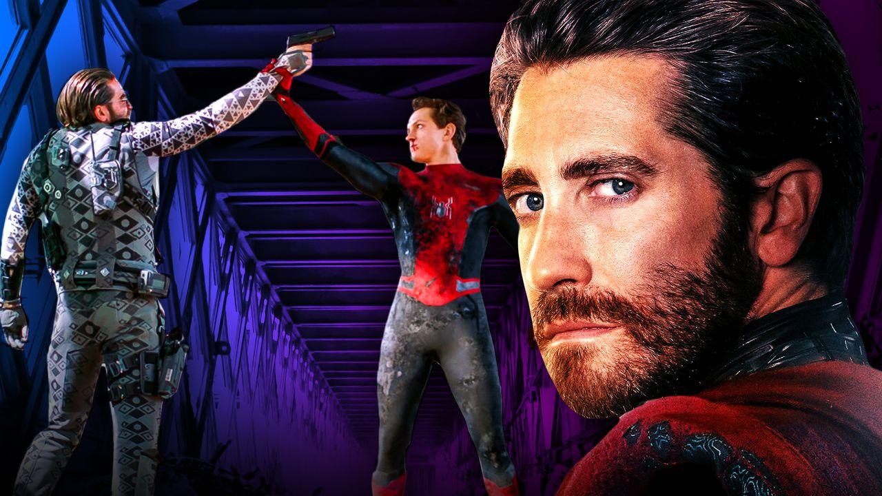 Mysterio Spider-Man Close Up
