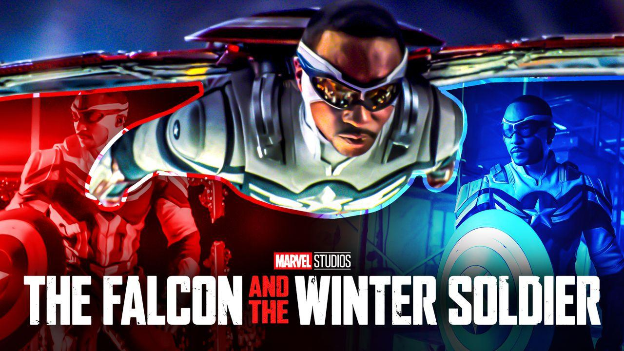Falcon and Winter Soldier Captain America suit