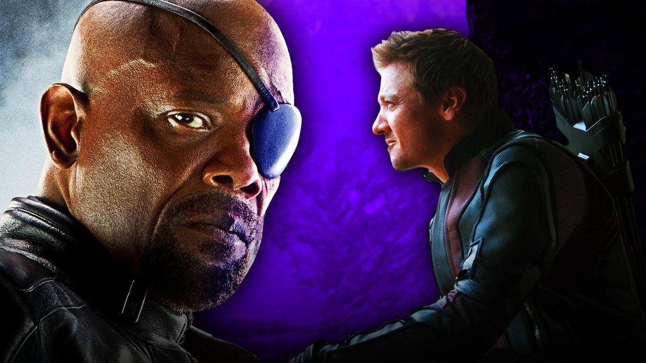 Nick Fury, Hawkeye