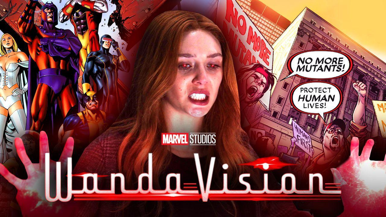 Scarlet Witch X-Men Mutants WandaVision logo