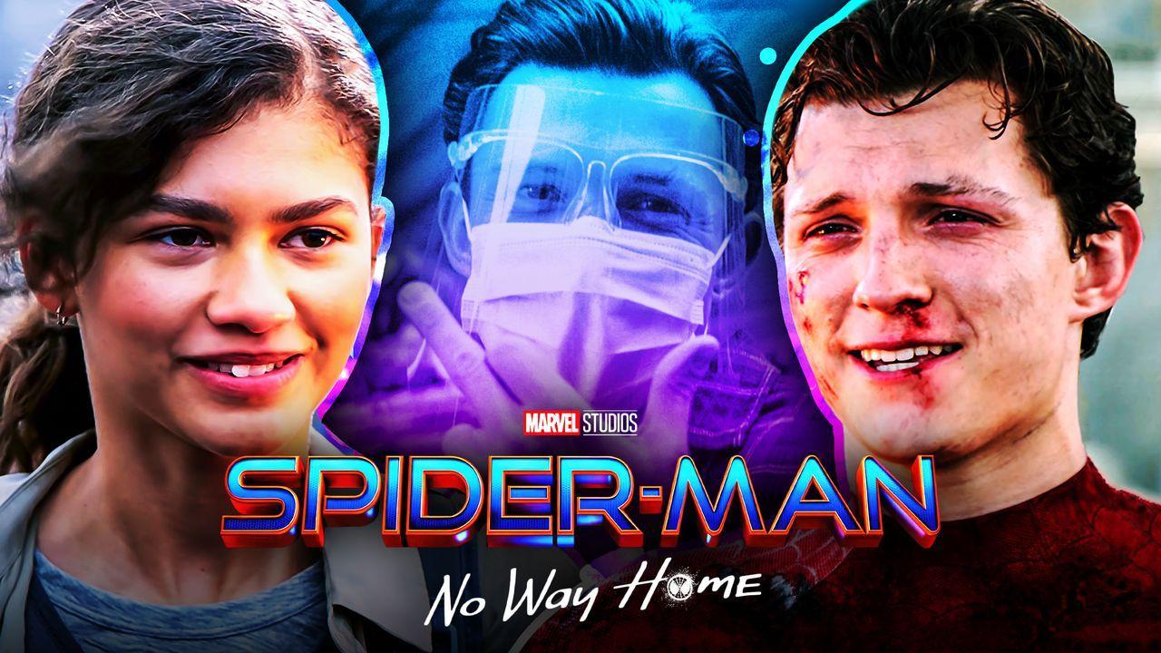 Tom Holland Zendaya Spider-Man