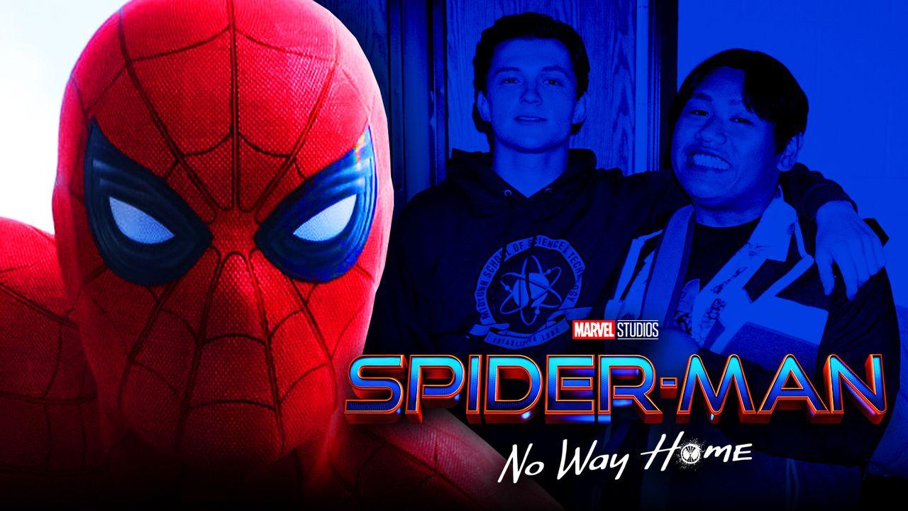 Spider-Man mask Tom Holland Jacob Batalon