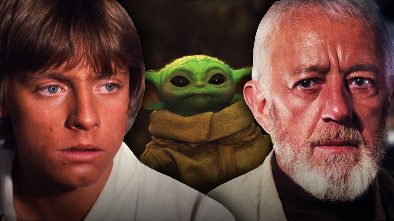 Obi-Wan Kenobi, Luke Skywalker, Grogu