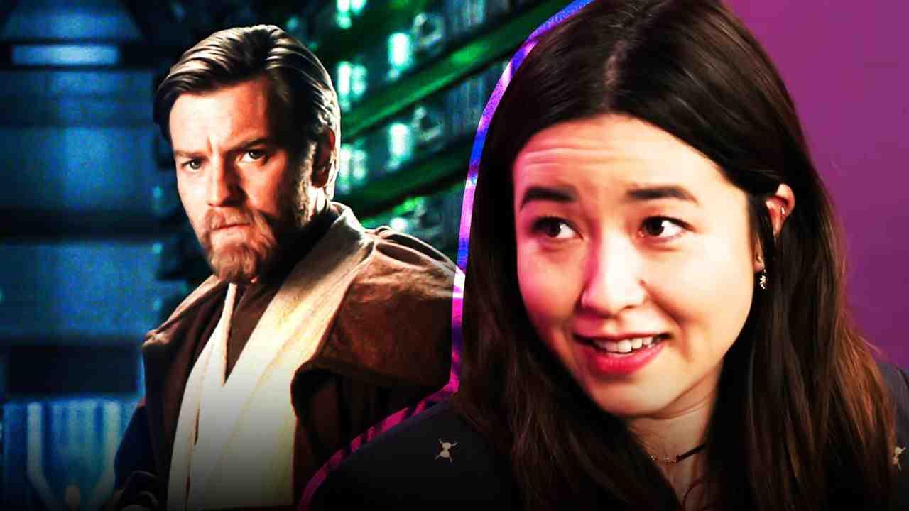 Star Wars Obi Wan Kenobi Ewan McGregor Maya Erskine