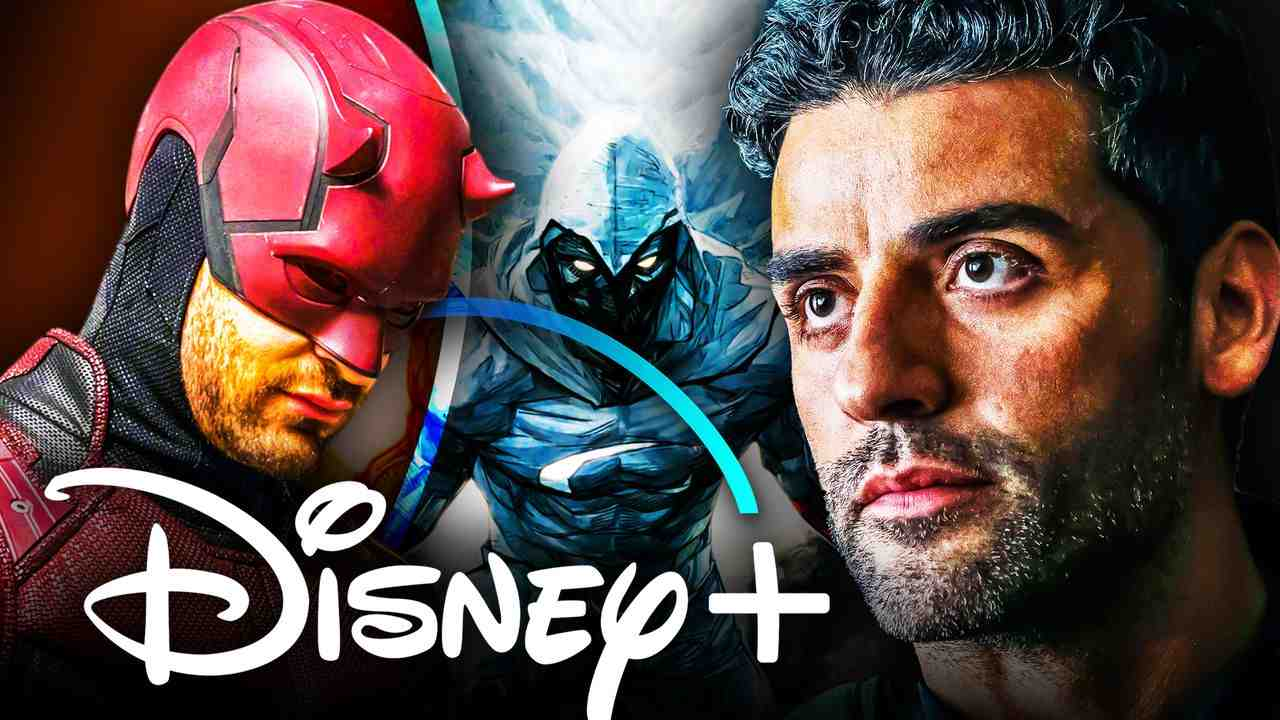 Daredevil Oscar Isaac Disney Plus logo