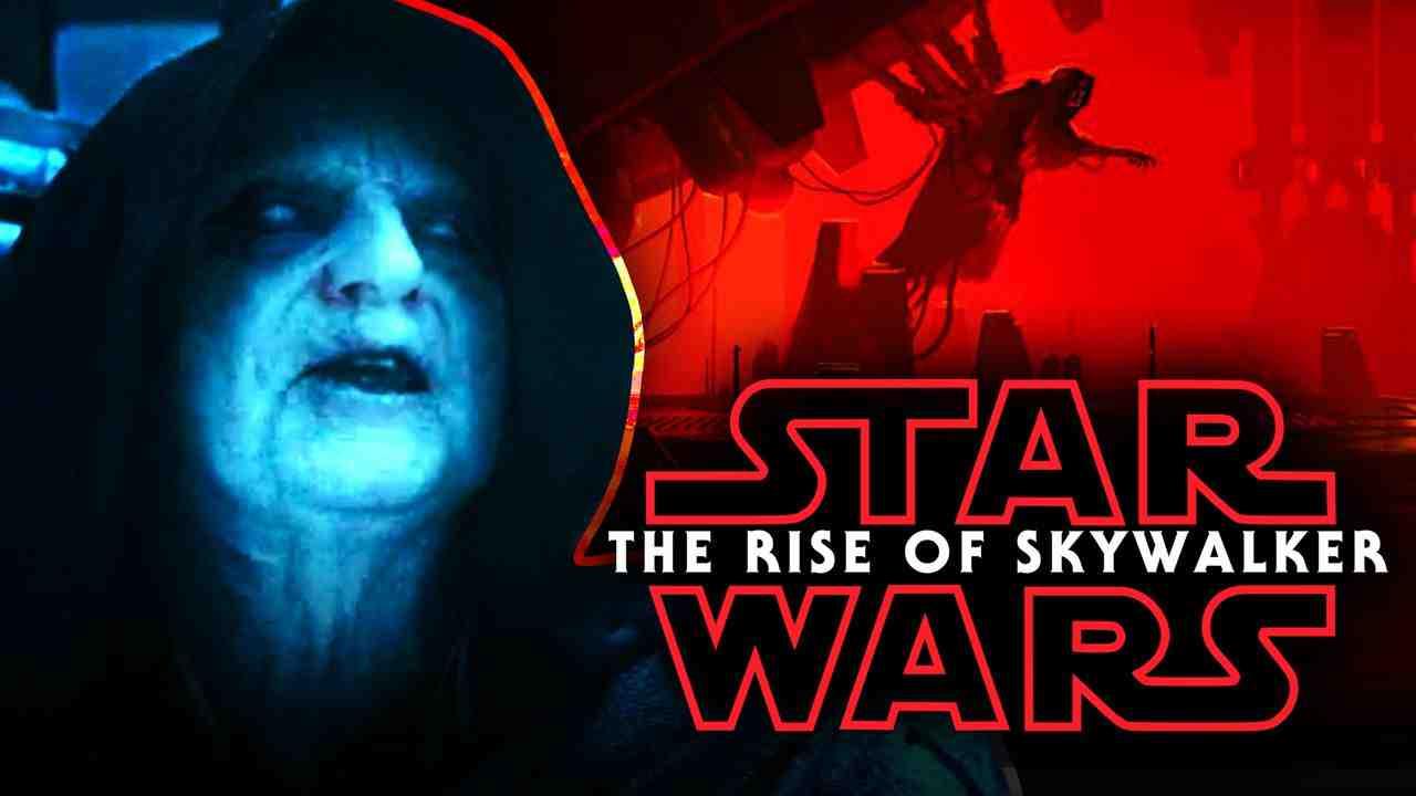The Rise of Skywalker Logo, Emperor Palpatine
