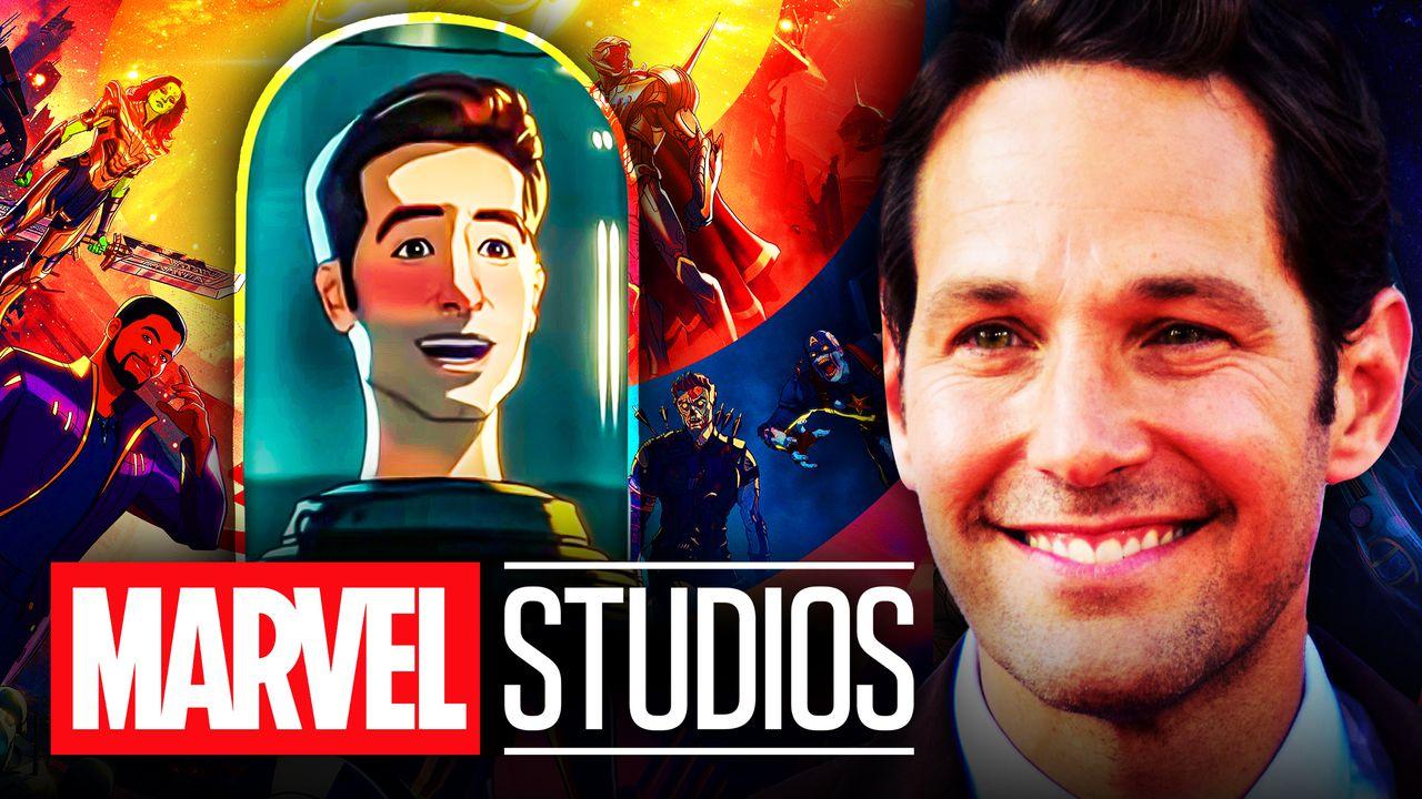 Paul Rudd Marvel Studio What If