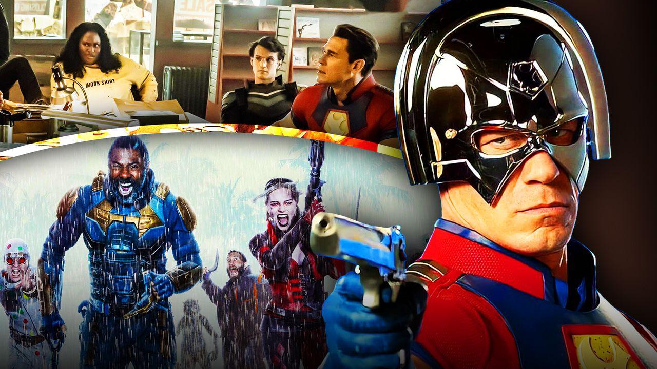 John Cena as Peacemaker, Suicide Squad Superhero Team