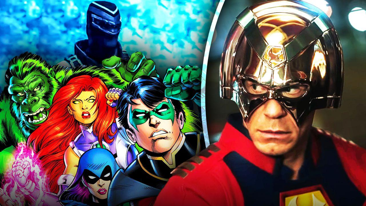 John Cena as Peacemaker, Teen Titans, Vigilante