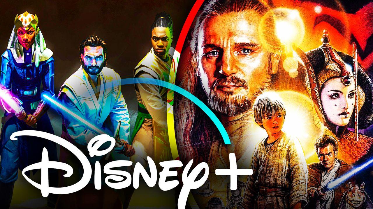 Star Wars Phantom Menace Disney Plus High Republic