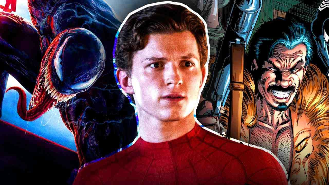 Tom Holland Spider-Man Venom Kraven