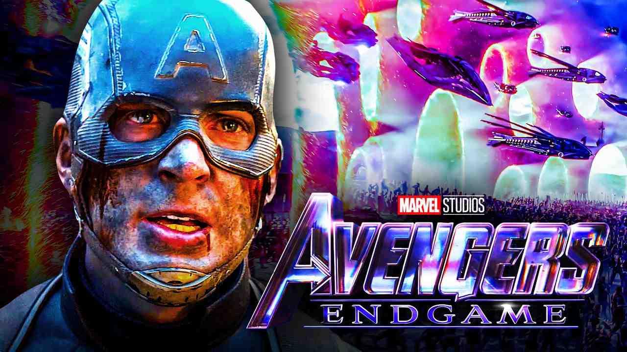 Captain America Portals Avengers Endgame