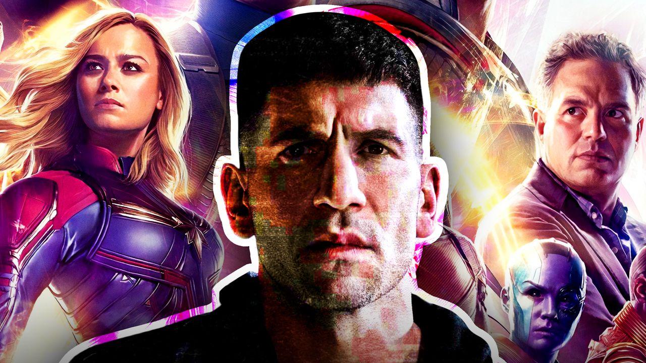 Captain Marvel, Punisher, Bruce Banner