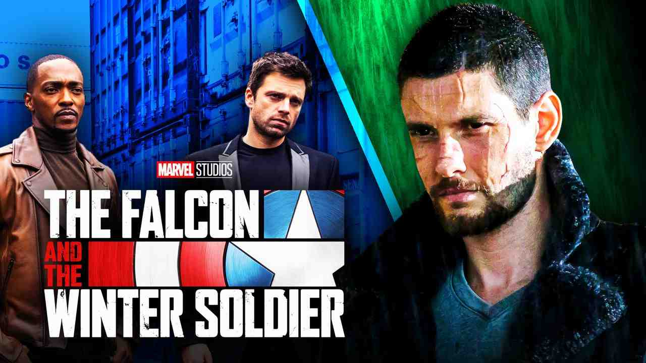 Ben Barnes Falcon and Winter Soldier