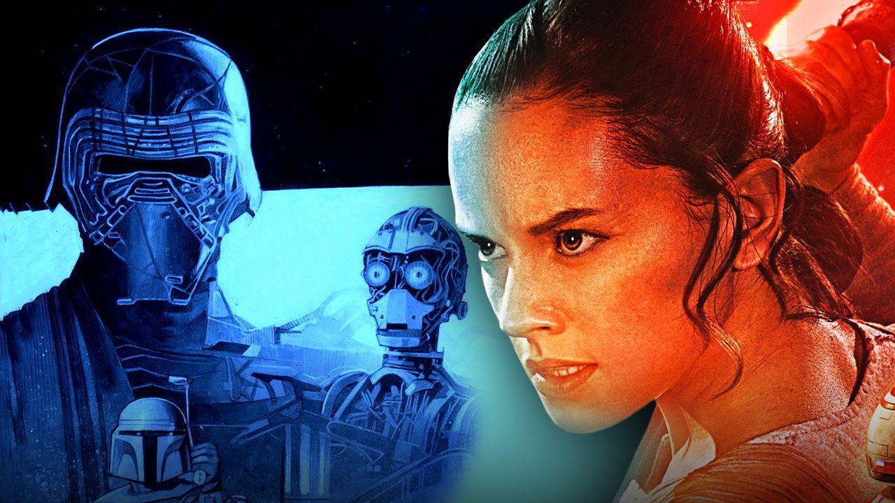 Star Wars Rey, Kylo Ren
