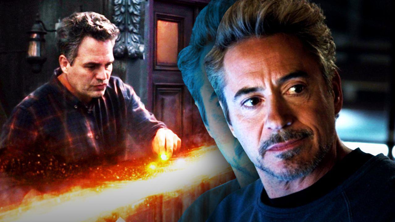 Bruce Banner and Tony Stark, Avengers: Endgame