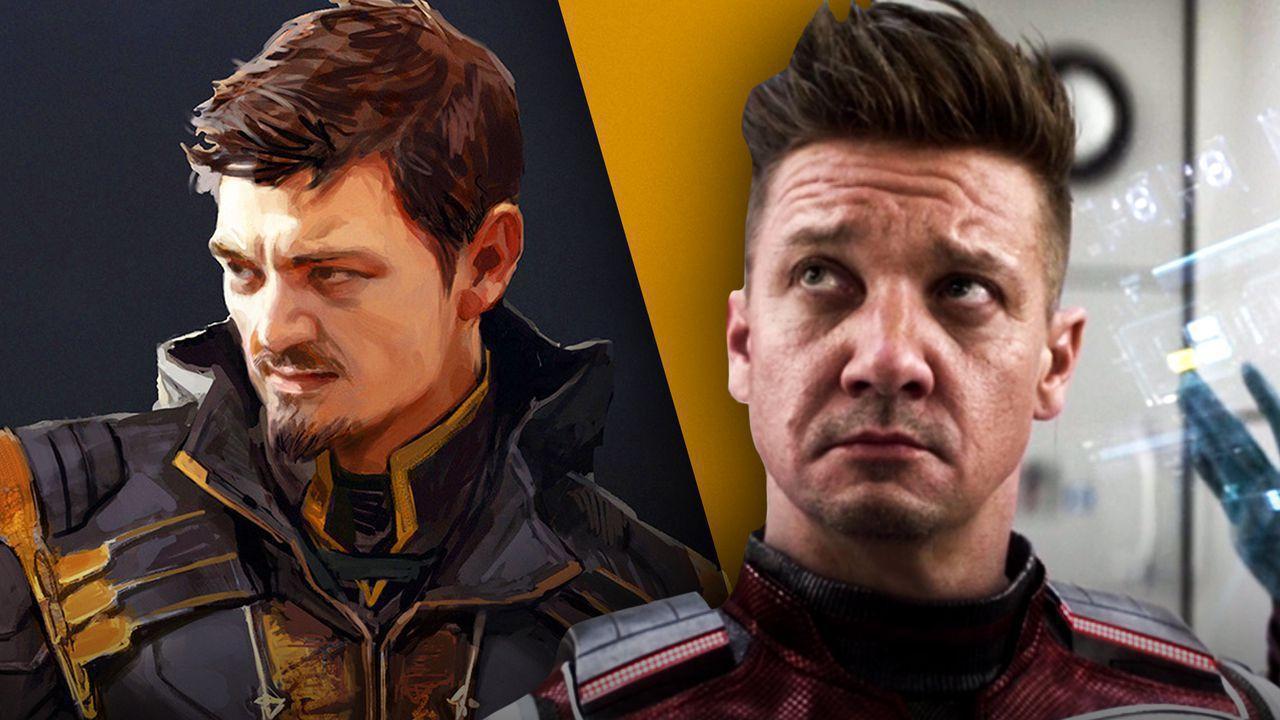 Jeremy Renner Ronin in Avengers: Endgame