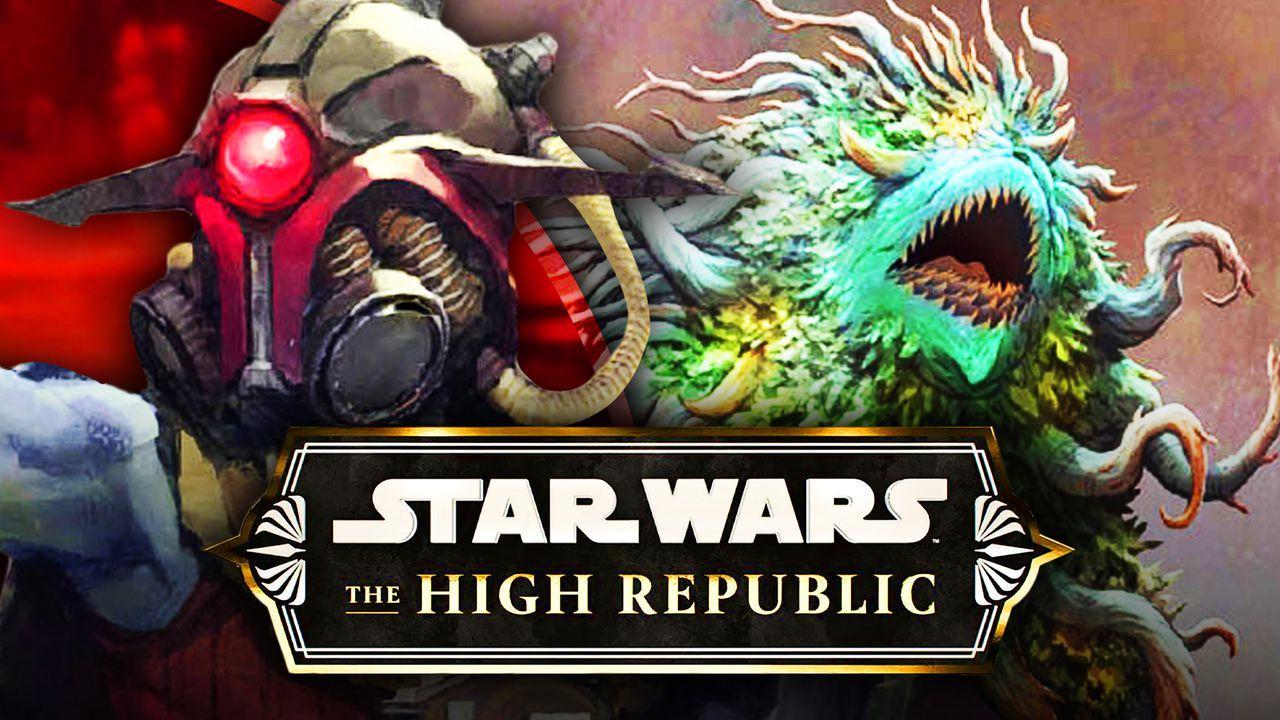 The High Republic logo, Marchian Ro, Drengir