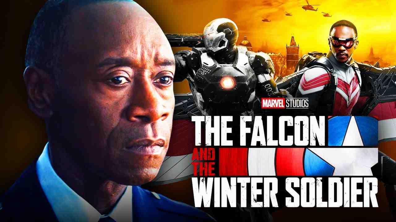 Don Cheadle War Machine Falcon and Winter Soldier