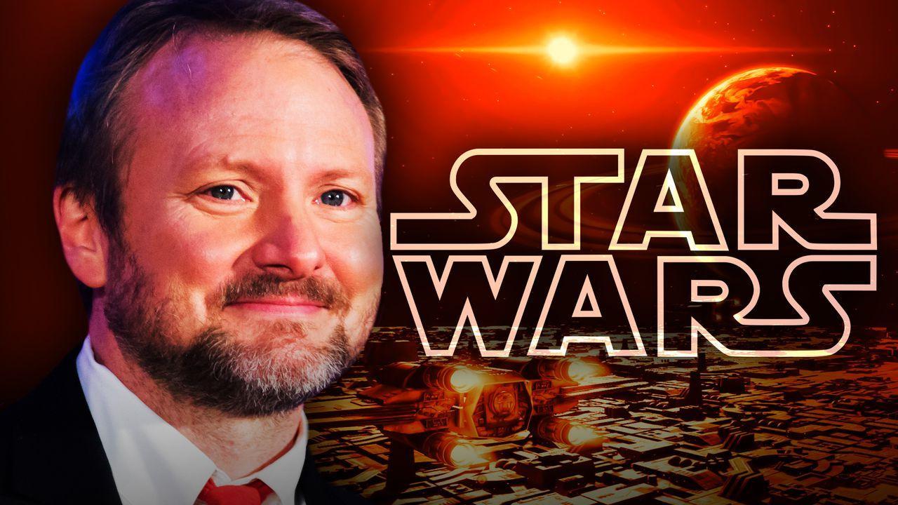 Rian Johnson Star Wars logo