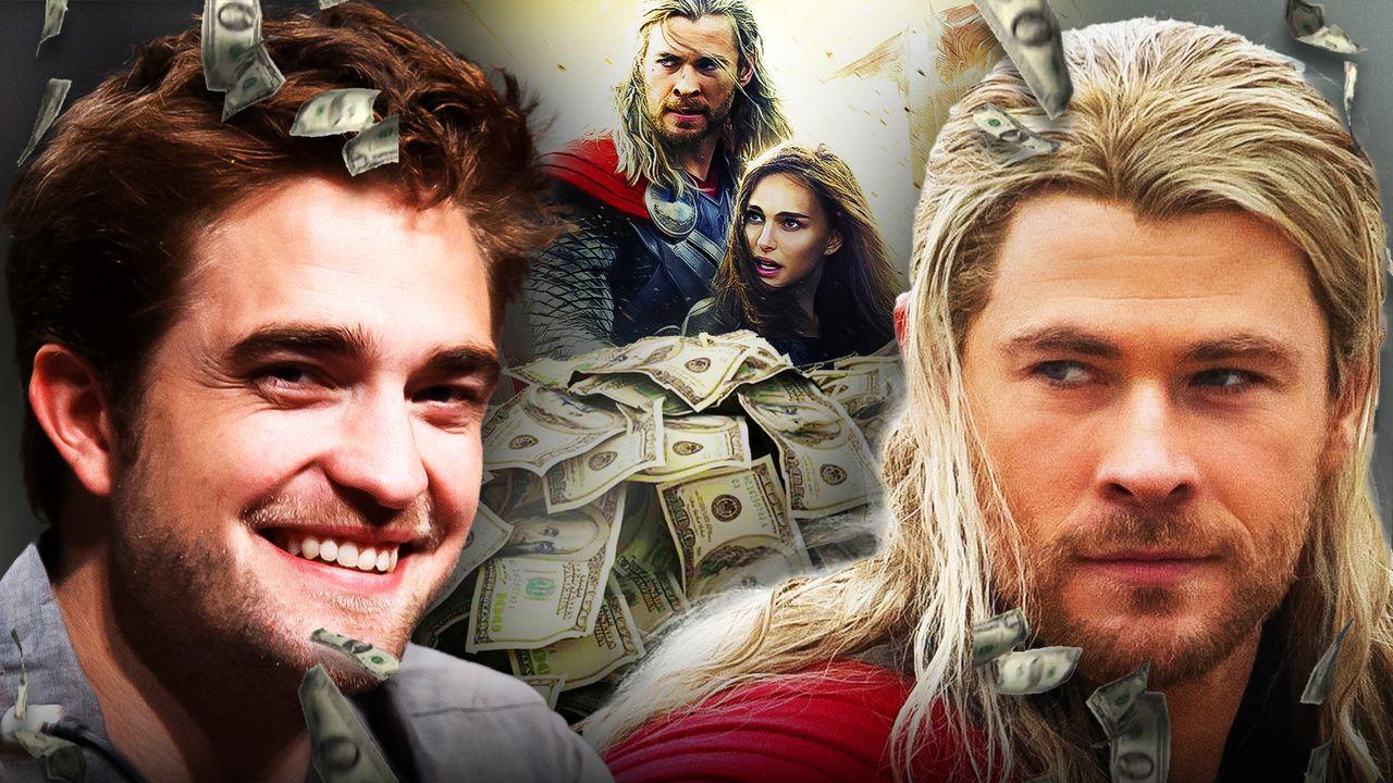 Robert Pattinson, Chris Hemsworth, Batman, Thor, Love and Thunder