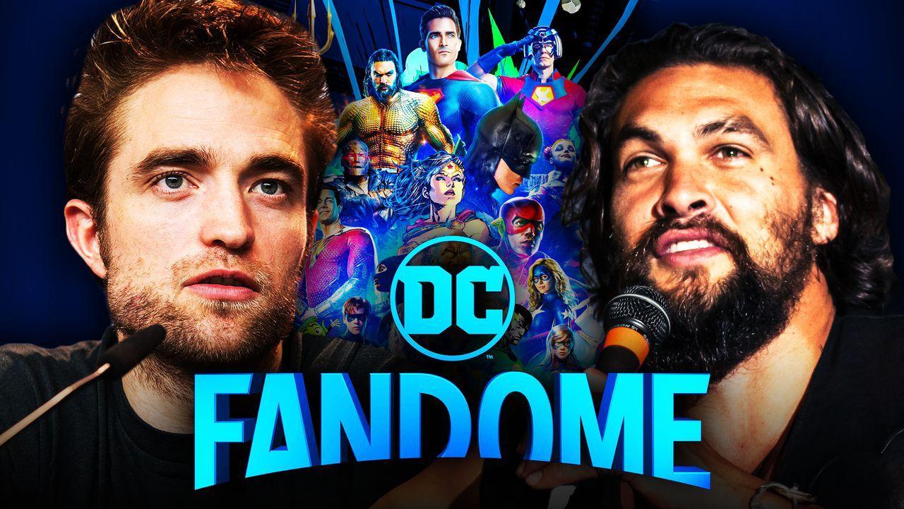 DC FanDome, Robert Pattinson, Jason Momoa
