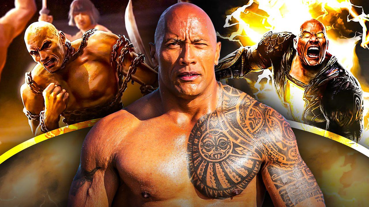 The Rock, Black Adam Shirtless Body