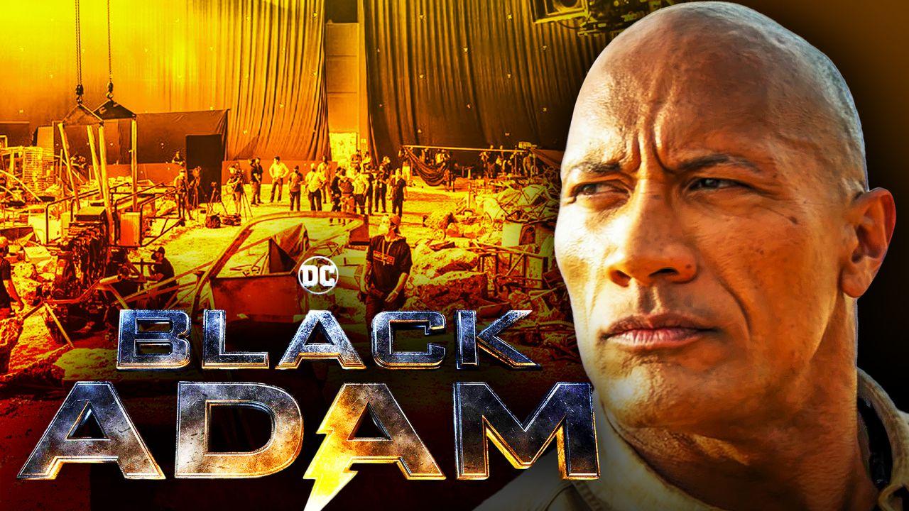 Black Adam Dwayne Johnson Movie
