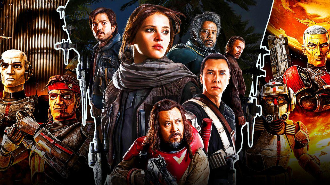 Star Wars Rogue One Poster Bad Batch