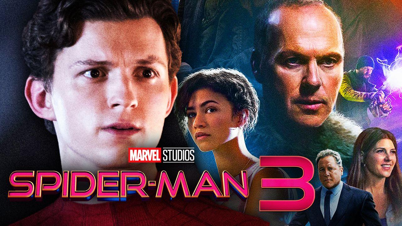 Tom Holland's Peter Parker, Spider-Man Homecoming cast
