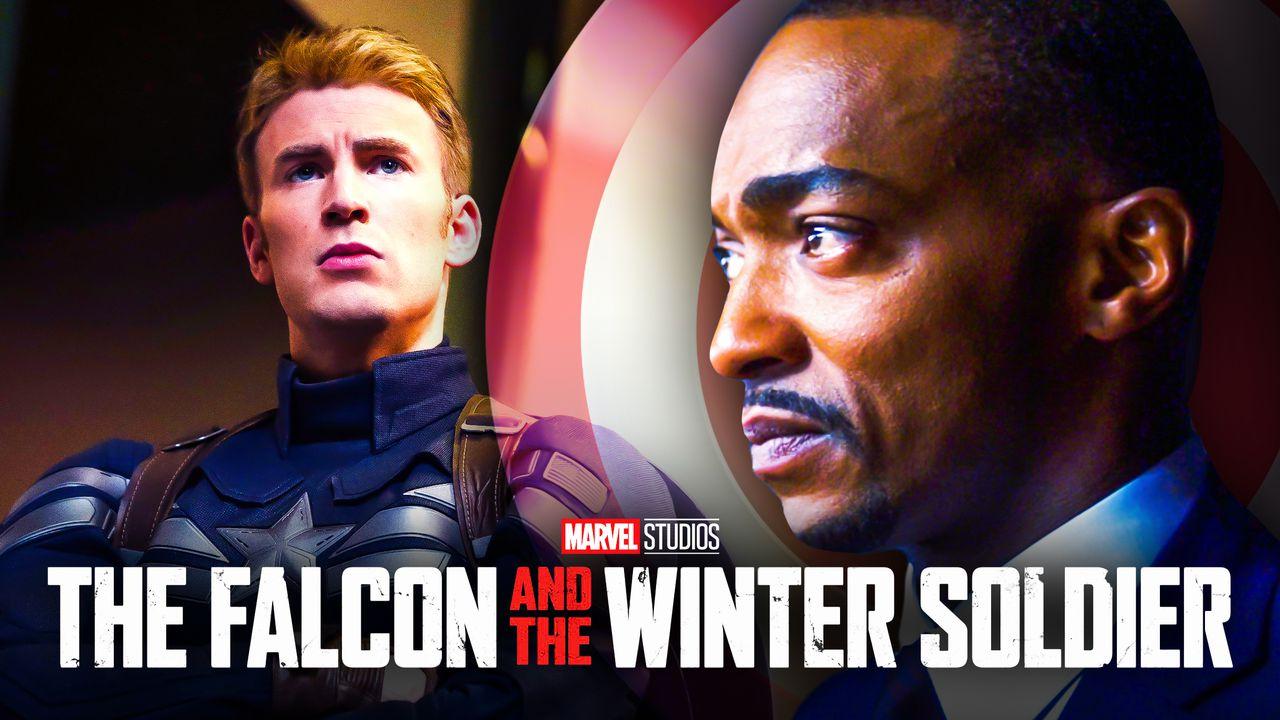 Captain America Sam Wilson Falcon and Winter Soldier