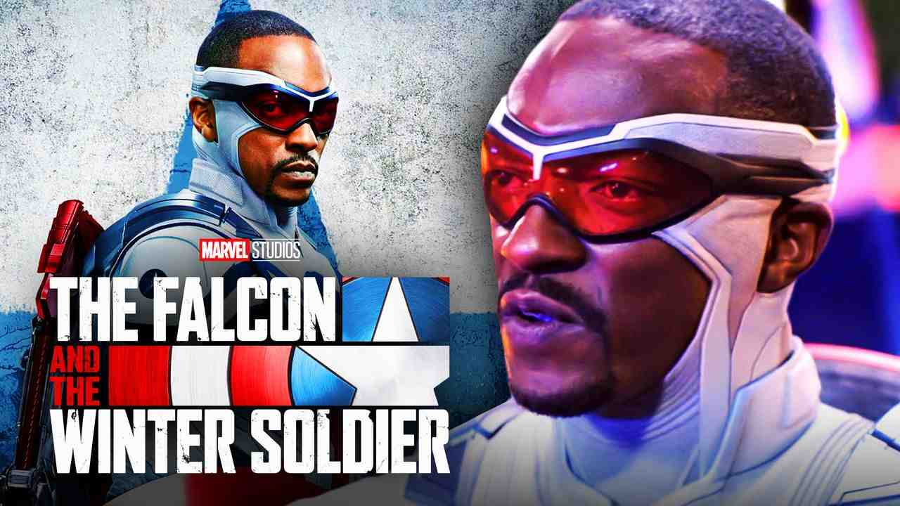 Anthony Mackie Captain America Sam Wilson