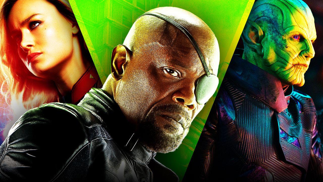 Marvel, MCU, Secret Invasion, Nick Fury, Brie Larson, Talos