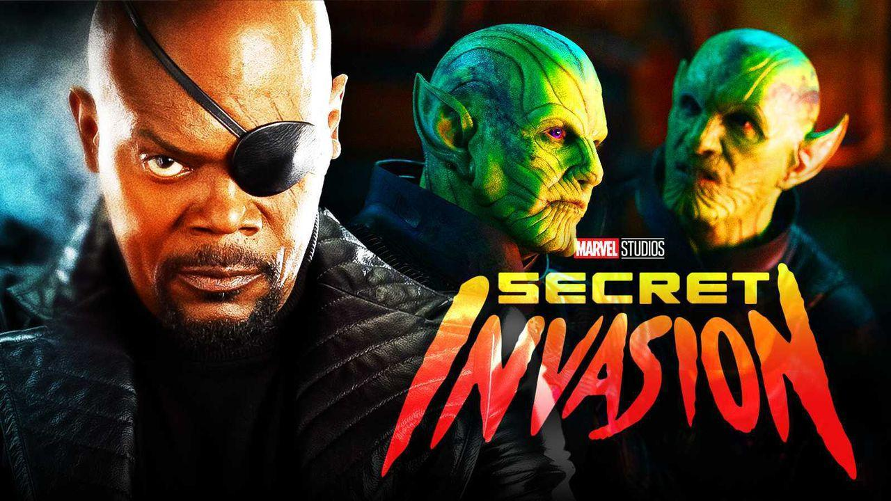 Samuel L. Jackson, Nick Fury, Skrulls, Secret Invasion