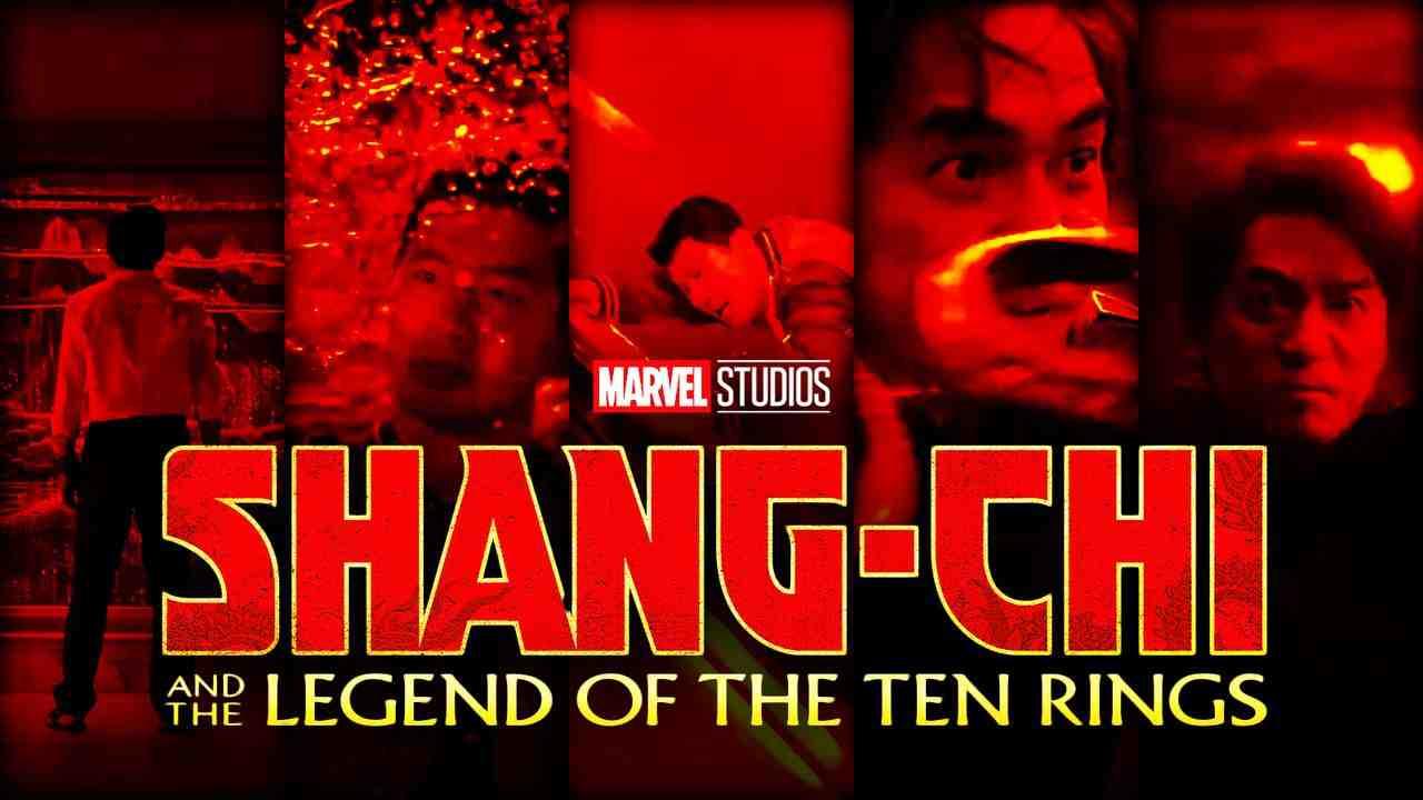 Simu Liu as Shang-Chi, Shang-Chi logo