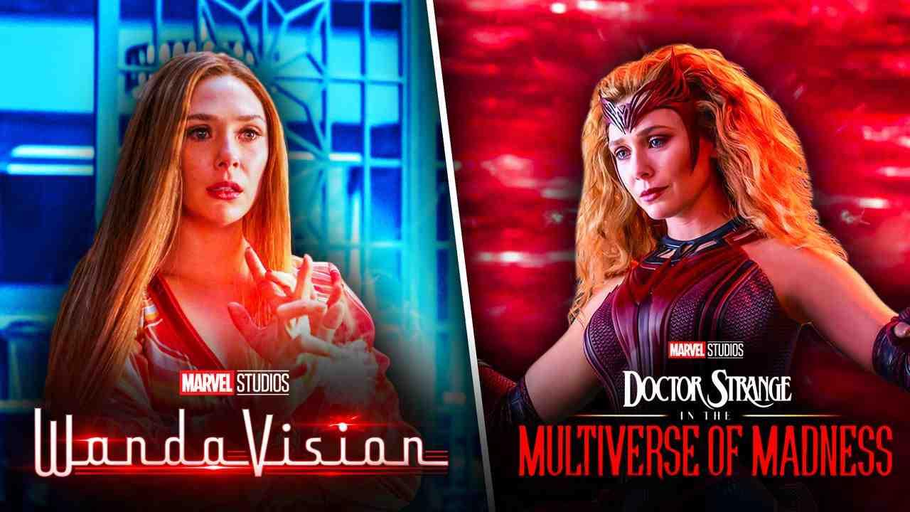 Scarlet Witch WandaVision Doctor Strange 2
