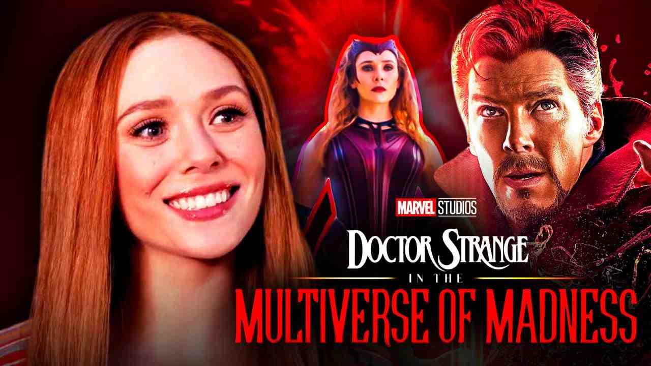 Doctor Strange Wanda Maximoff Multiverse of Madness