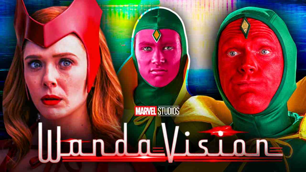 WandaVision Scarlet Witch Vision Halloween Costumes