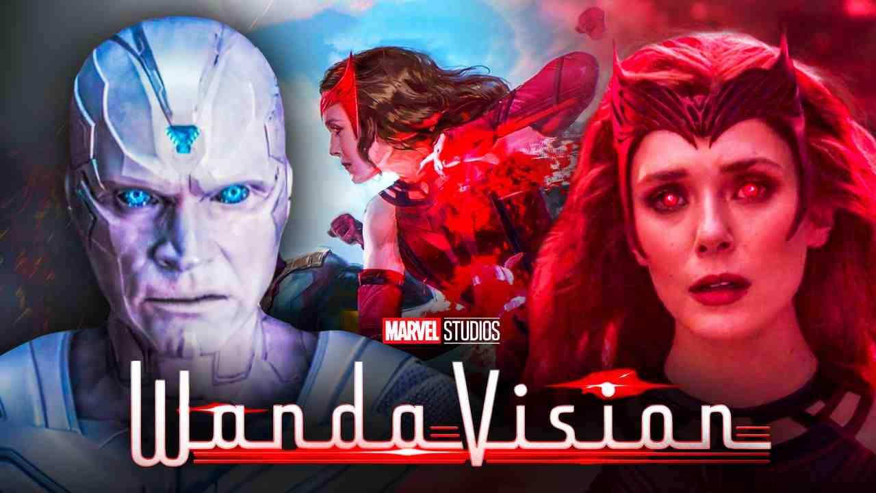 White Vision Wanda Scarlet Witch WandaVision