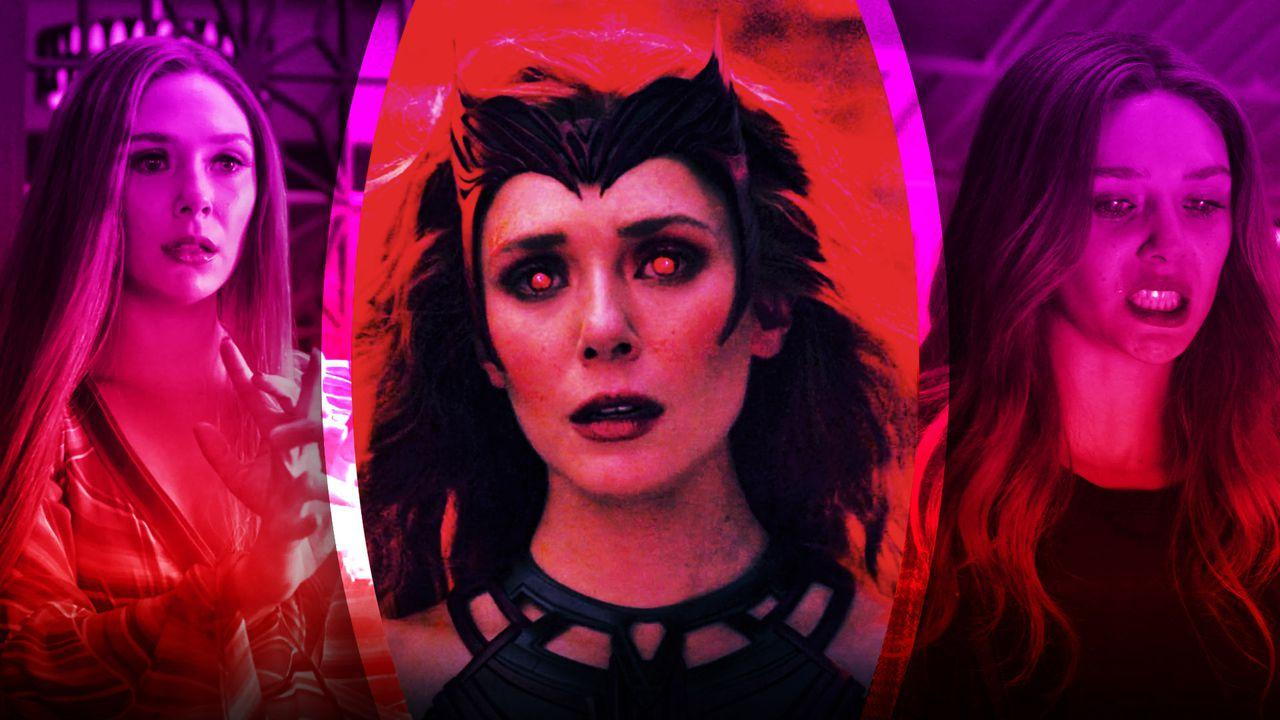 WandaVision, Scarlet Witch Costume Elizabeth Olsen