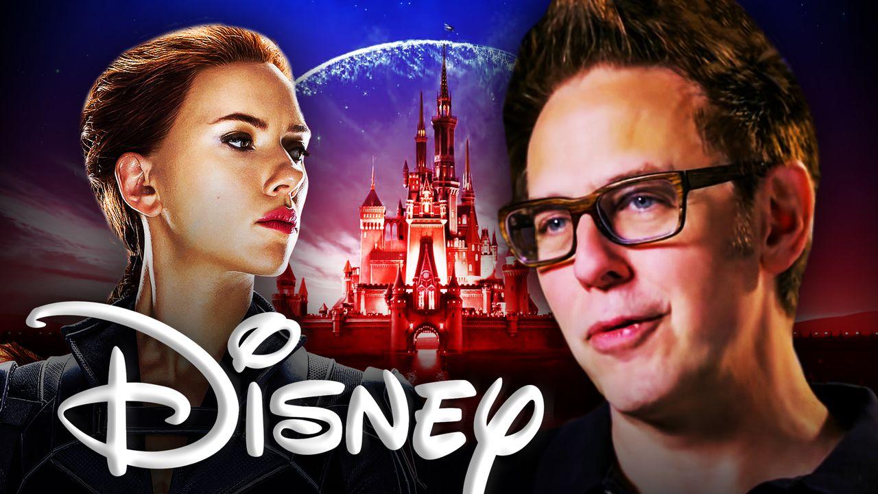 Scarlett Johansson James Gunn Disney
