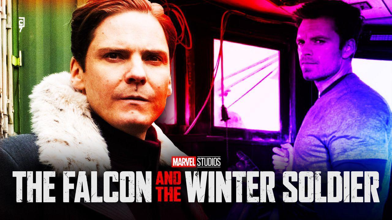 Daniel Bruhl Zemo Sebastian Stan Falcon and Winter Soldier