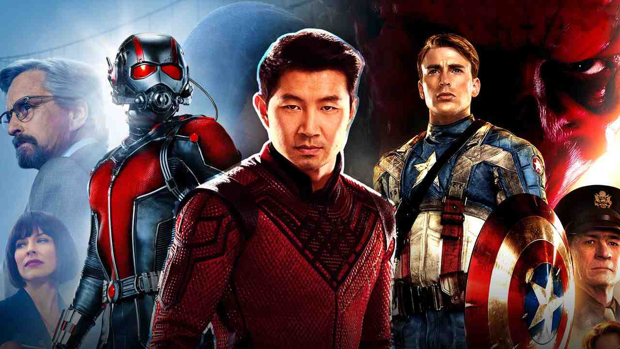 Shang-Chi Captain America Ant-Man