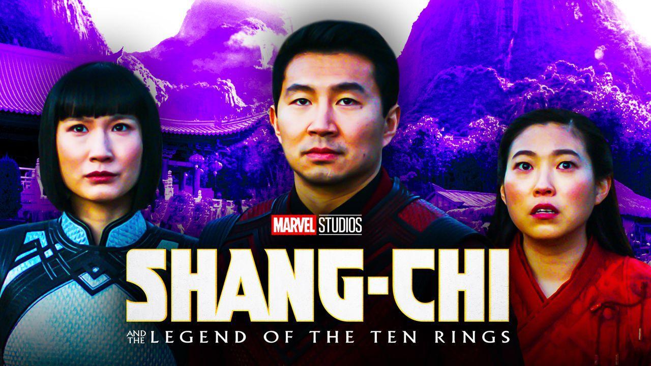 Shang-Chi, Simu Liu, Awkwafina, Meng'er Zhang