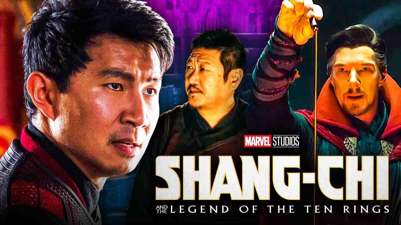 Shang-Chi Doctor Strange Wong