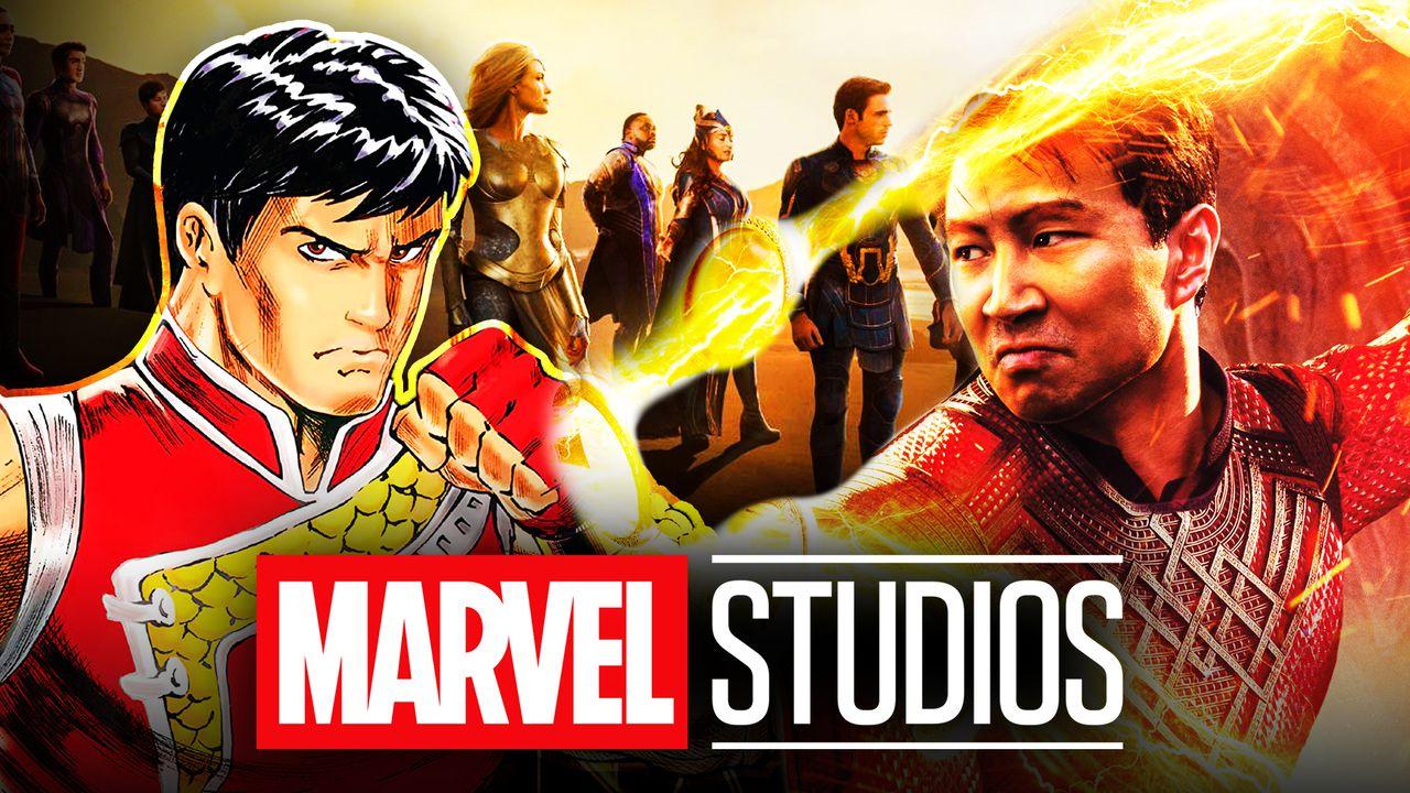 Simu Liu as Shang-Chi Marvel Studios